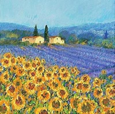 Van Gogh sunflower.. We had 2 of his paintings when I was a child. Reminds me of home.