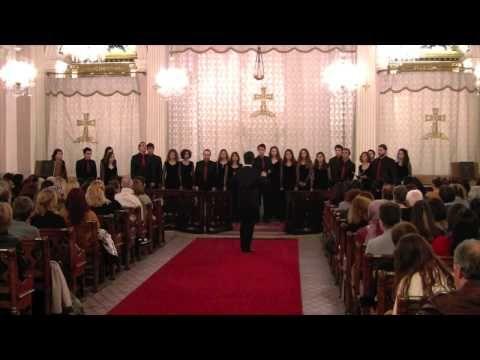 BÜMK Klasik Müzik Korosu - Lux Aurumque (Eric Whitacre) - YouTube