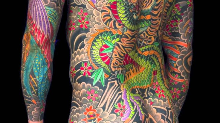 Full Body Suit Tattoo by Aaron Coleman
