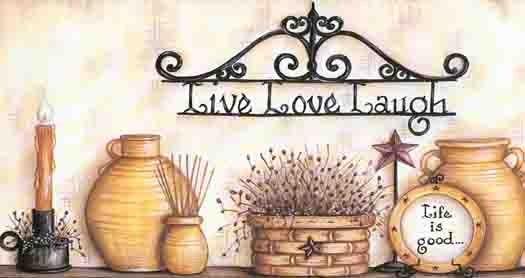 Live Laugh Love Border | 418B80978 Brewster Live Love Laugh Wall paper Borer