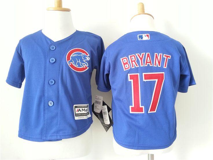 Infant MLB chicago cubs #17 Kris Bryant jersey