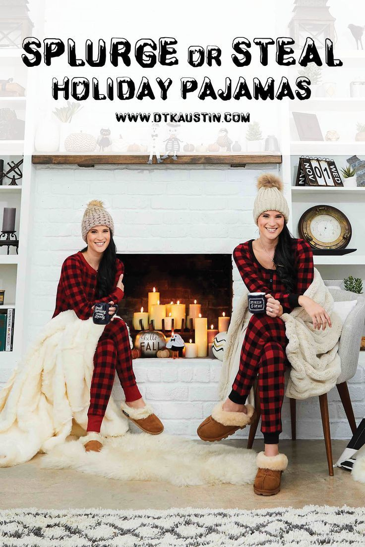 DTKAustin shares her recent Splurge or Steal Column about plaid pajamas in Austin Woman Magazine just in time for winter! | christmas pajamas for women | stylish christmas pajamas | holiday pajamas | buffalo checked pajamas | cozy pajamas || Dressed to Kill #christmasjammies #christmaspajamas #buffalocheck