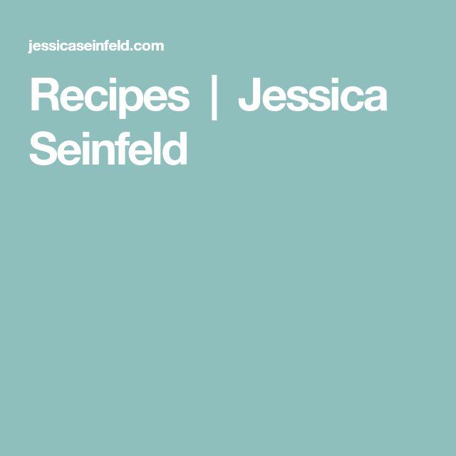 Recipes | Jessica Seinfeld