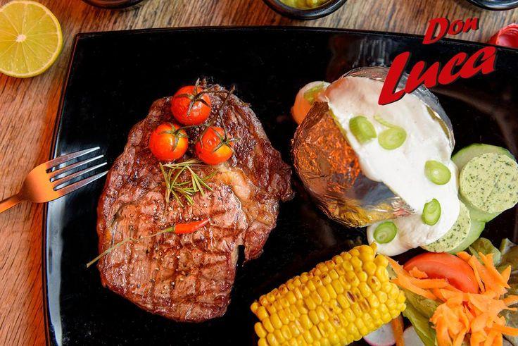 Jetzt noch viel besser!  Unser neuer LAVA-STEIN-GRILL ist da.   Probiere doch mal unser Rib-Eye-Steak.    Don Luca mexikanisches Restaurant   www.donluca.de #DonLuca #mexikanisch #Restaurant #Bar #Cocktailbar #Cantina #mexican #Mexicaner #Muenchen #Schwabing #Don #Luca #HappyHour #mexikanischesEssen
