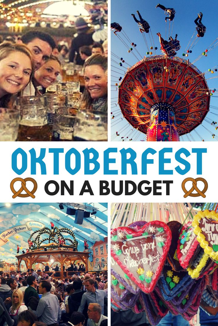 How to have an epic Oktoberfest on a budget! Sample Oktoberfest costs, cheap accommodation in Munich, and even a tip on where to find free beer!  #Oktoberfest #Germany #Munich #wiesn #münchen #Bavaria #deutschland #Beer