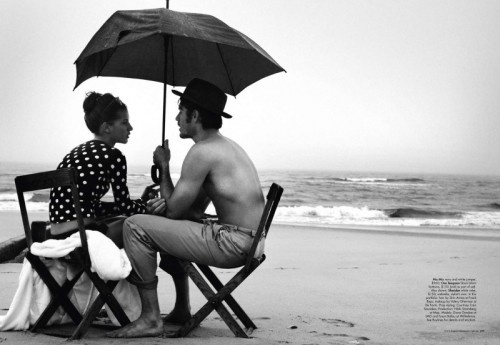 diana dondoe by will davidson in   'swept away' for harper's bazaar australia,   nov'10: At The Beaches, Bazaars Australia, Polka Dots, Umbrellas, Romances, Harpers Bazaars, White, Photography, Black