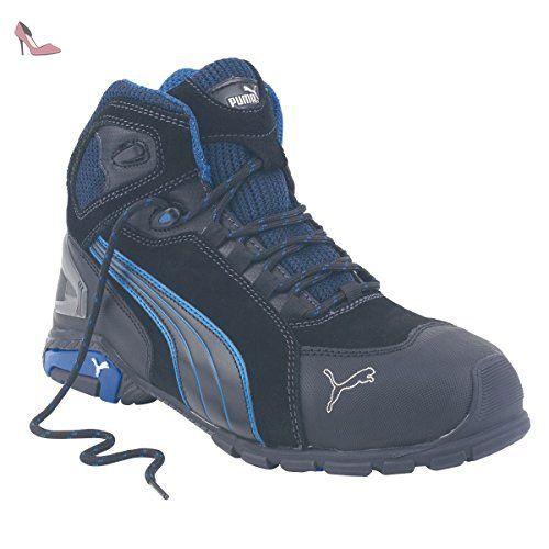Puma Rio Mid Chaussures de sécurité Bottes Noir Taille 10 - Chaussures puma (*Partner-Link)