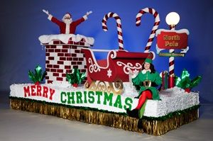 Complete Christmas Time Is Here Parade Float Theme