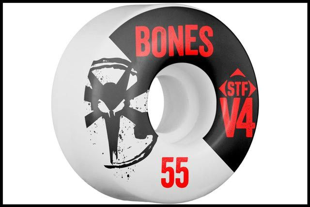 9 Greats Brands of Skateboard Wheels: Bones Skateboard Wheels