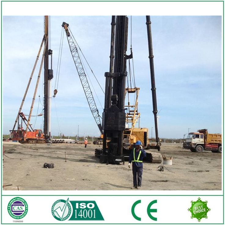 Guide rod DD25 diesel pile drive hammer for Indonesia