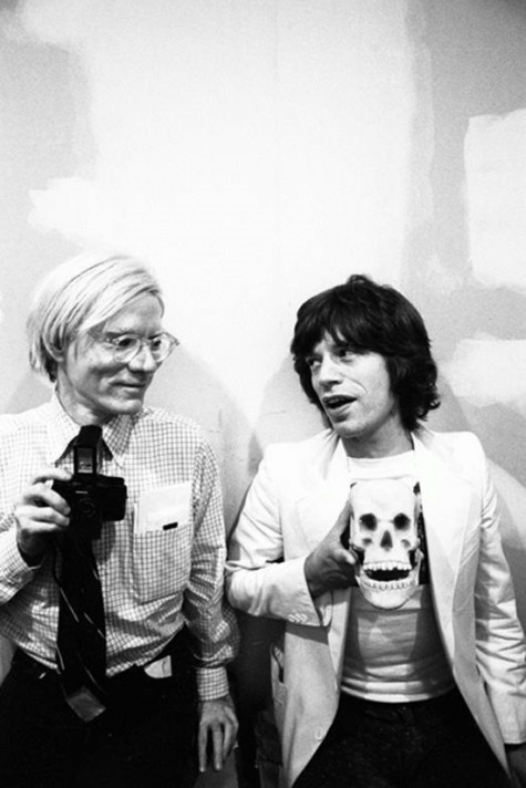 Mick Jagger and Andy Warhol: Strange People, Pain Remedies, Megan Foxes, Pop Music, The Rolls Stones, Andywarhol, Andy Warhol, Photo, Mick Jagger