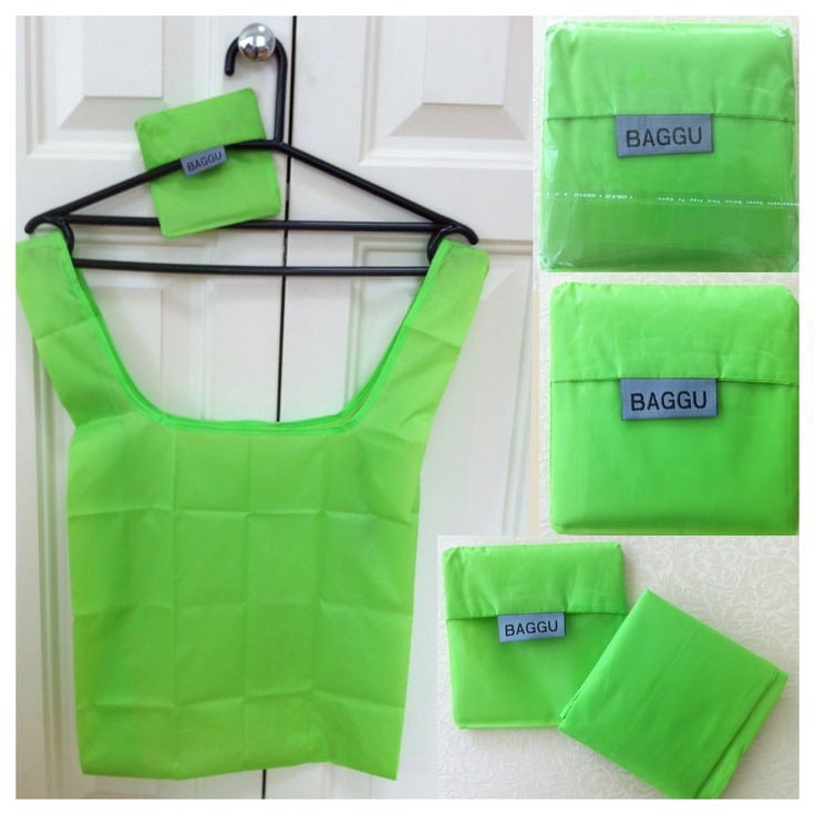 BAGGU - Lime green - AUD $6.00 + postage or local pick up available.