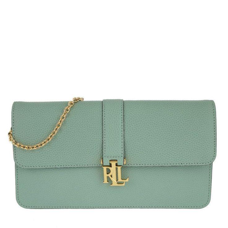 Lauren Ralph Lauren Lauren Ralph Lauren Tasche – Farrah Clutch Seaglass – in grün – Abendtasche für Damen