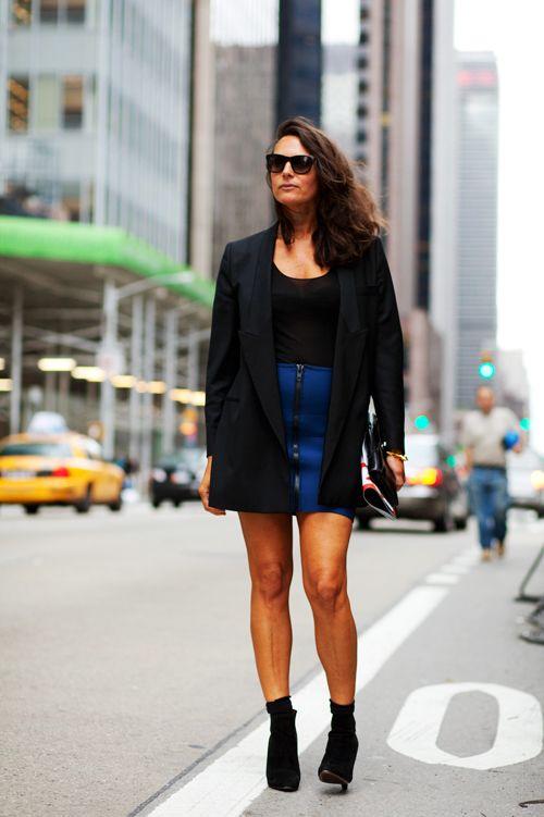 Black Jackets & Legs, NYC