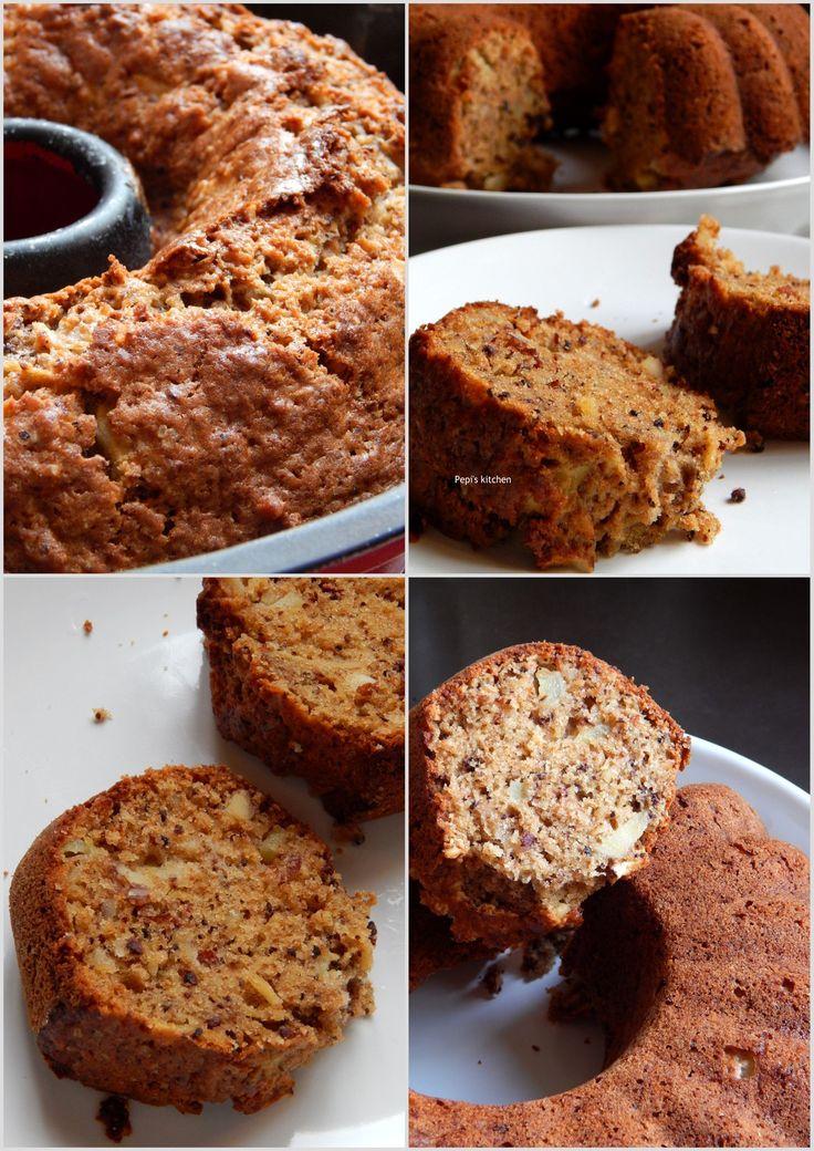 Κέικ Μήλου από το Food For Thought! http://laxtaristessyntages.blogspot.gr/2013/10/apple-cake.html