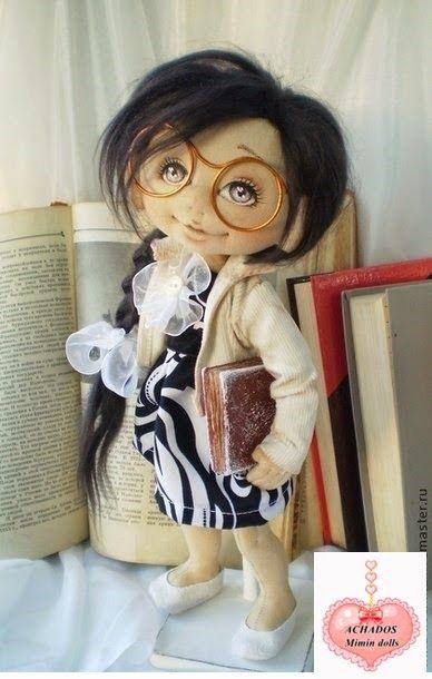 Mimin Dolls: free pattern - no english  doll leitora