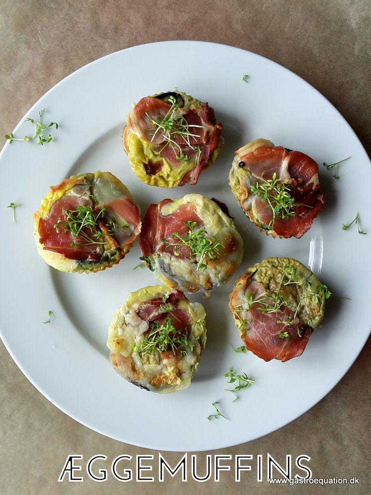 Mangler du indimellem et alternativ til madpakken? Prøv æggemuffins med skinke, ost og grønt. Let at have med i madpakken, low fodmap venlig og smager super