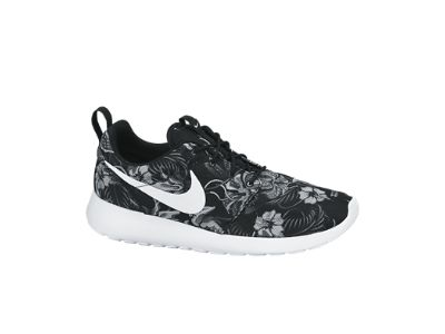 Nike - Roshe One Print Shoe {in Cool Grey/Black/White}