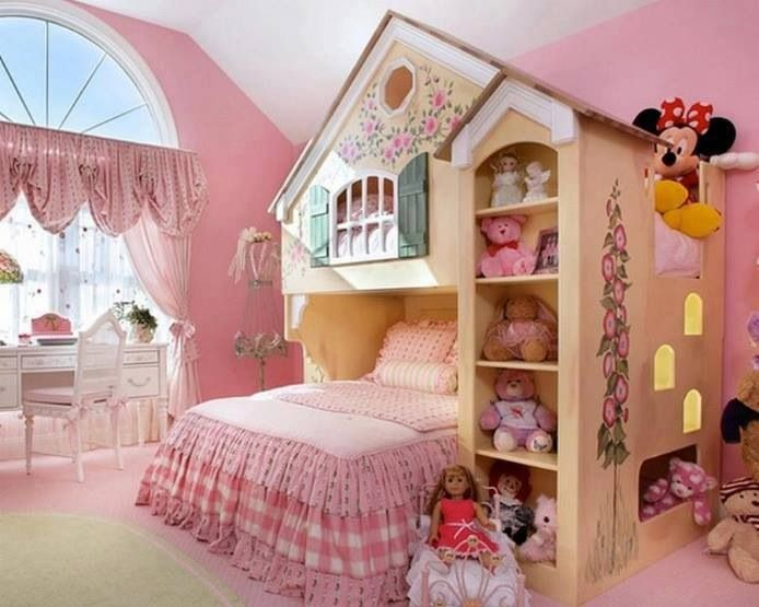 Little girls bed for my bella pinterest for Prinzessin zimmer einrichten