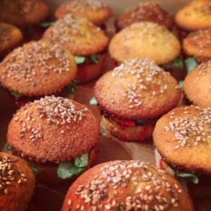 Birthday Burger Cupcakes | Burger Cupcakes, Burgers and Cupcake