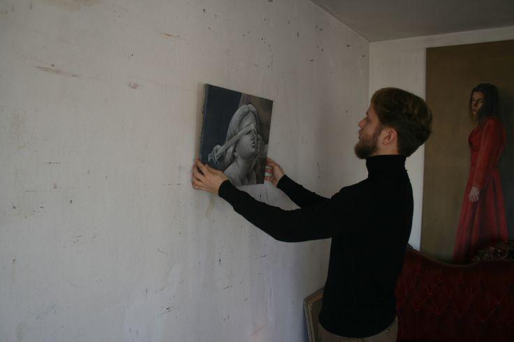 Cyprian Nocon in studio