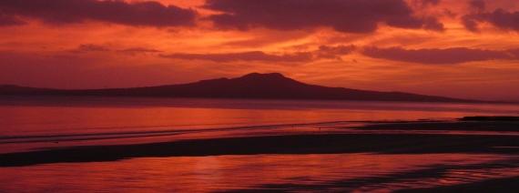 Rangitoto Island, Auckland sunrise