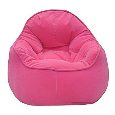 Modern Bean Bag Mini Me Pod Small Bean Bag Chair Pink - MBB918P - PINK