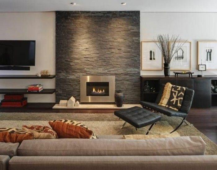 die 25+ besten ideen zu kamin einbauen auf pinterest | wohnzimmer ... - Wohnzimmer Ideen Mit Kamin