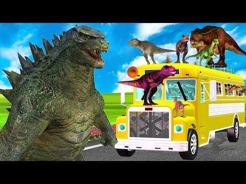 (8) Wheels On The Bus Rhymes   Animals Nursery Rhymes   Kids Preschool Songs   Animated Rhymes For Kids - YouTube
