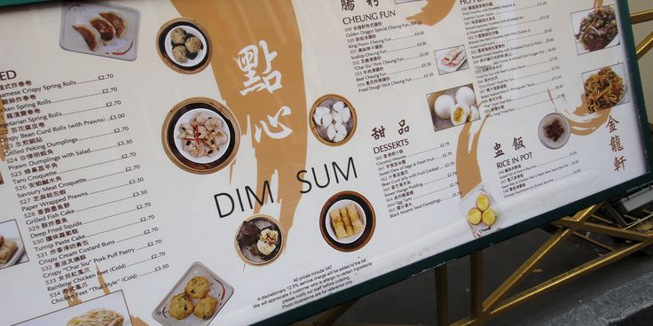 Dim Sum er en lunsj som berører ditt hjerte