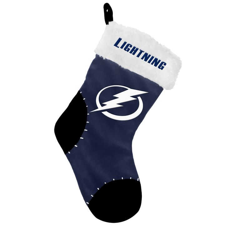 Tampa Bay Lightning Holiday Stocking - Tampa Bay Sports