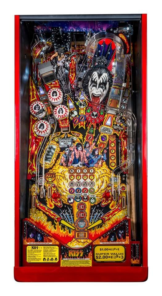 New KISS Pinball Machines Available Through STERN PINBALL