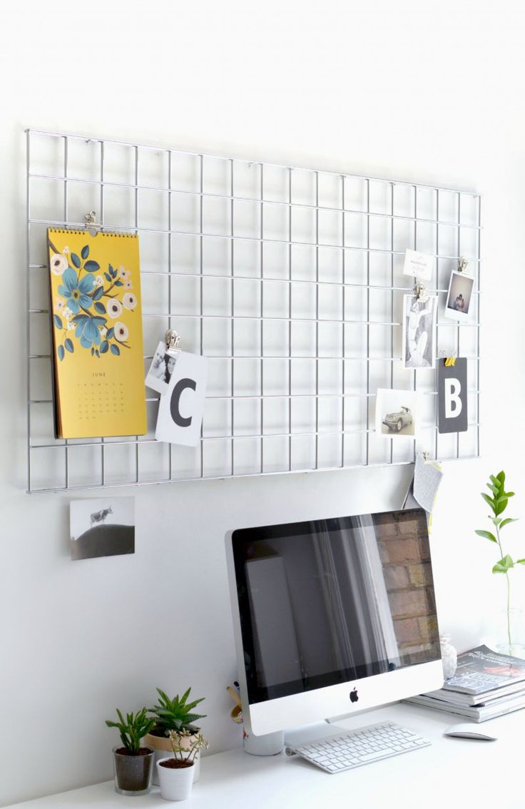 DIY | home office memo board | burkatron | DIY + lifestyle blog
