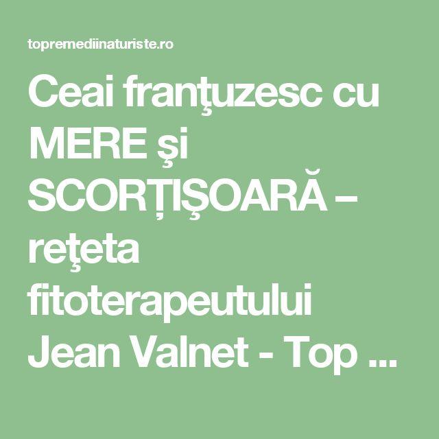Ceai franţuzesc cu MERE şi SCORŢIŞOARĂ – reţeta fitoterapeutului Jean Valnet - Top Remedii Naturiste