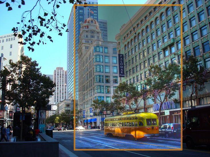 Streetcar, Market St. San Francisco. CA.