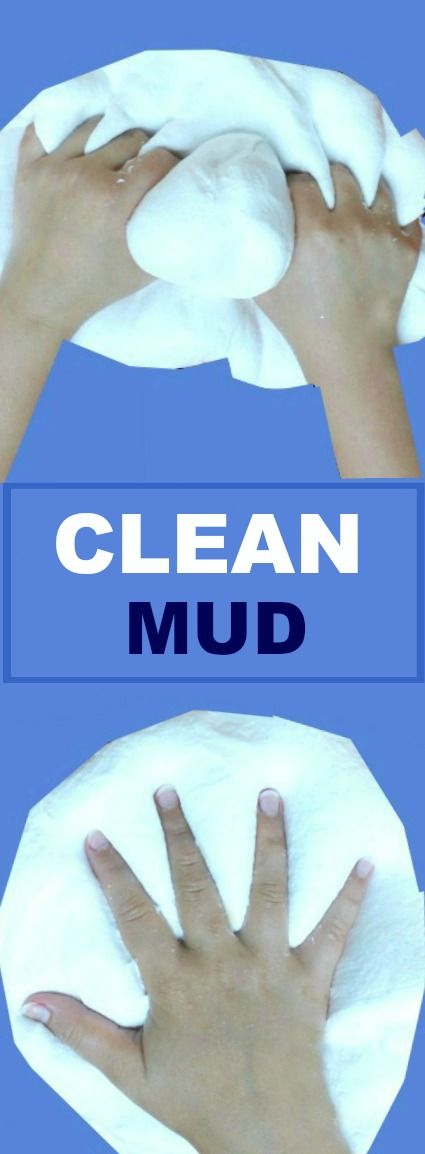 FUN KID PROJECT: Make clean mud! All the fun of mud with none of the mess!! #playrecipesforkids #kidsactivities