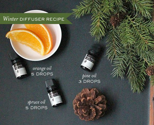 Winter Essential Oil Blend Would Go Great On A Blend Of