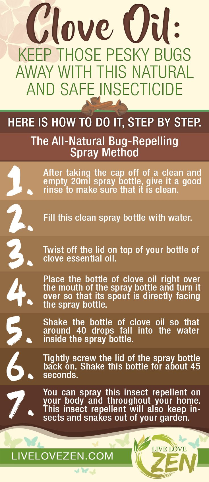 Clove Oil: Keep Those Pesky Bugs Away with this Natural and Safe Insecticide