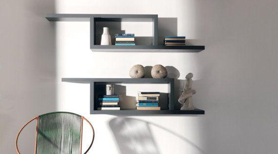 Shelvesmodular shelveswall shelvesgeometric by WOODSCRAPPERSART