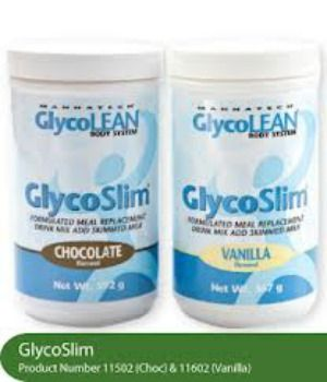 Glyco slim is a meal replacement for either  losing weight or gaining weight; for gaining weight I use it as an extra meal. AND their chocolate one is to die for!! Satisfies my sweet tooth :) https://www.mannatech.com/en/AU/Shopping/Products/11502