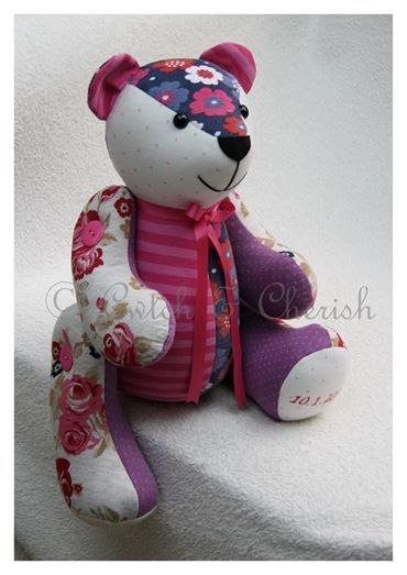 how to make a memory bear from old clothes - Google Search