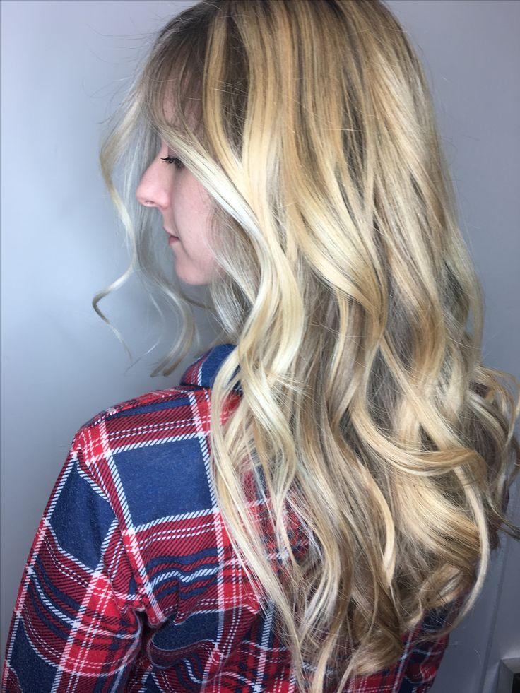 Balayage hair Blonde hair Schwarzkopf hair Color correction