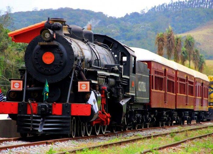 Trem turístico de Guararema, SP - Foto: Prefeitura de Guararema