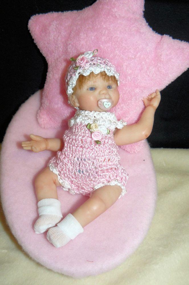 OOAK Original Artist Sculpt - Polymer Clay Art Doll - Baby Lexi -7 inches | eBay