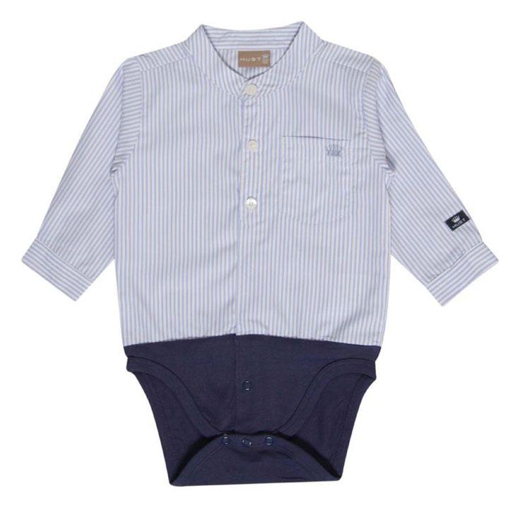 Super lækker skjorte body fra Hust & Claire i lyseblå