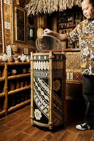 How To Outfit Your Home Tiki Bar - Imbibe Magazine
