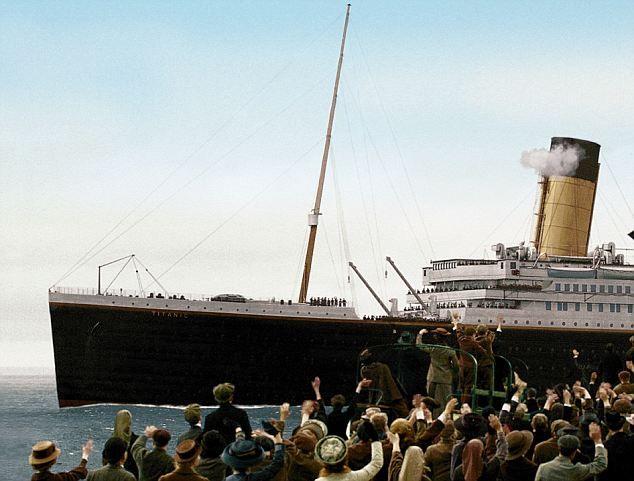 Julian Fellowes' Titanic - 4 pt mini-series to be broadcast on ABC starting April 14, 2012  USA