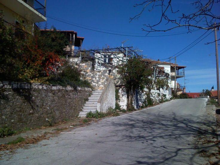 Δρομος προς πλατεία Γεωργίτσι Photo from Georgitsi in Laconia | Greece.com