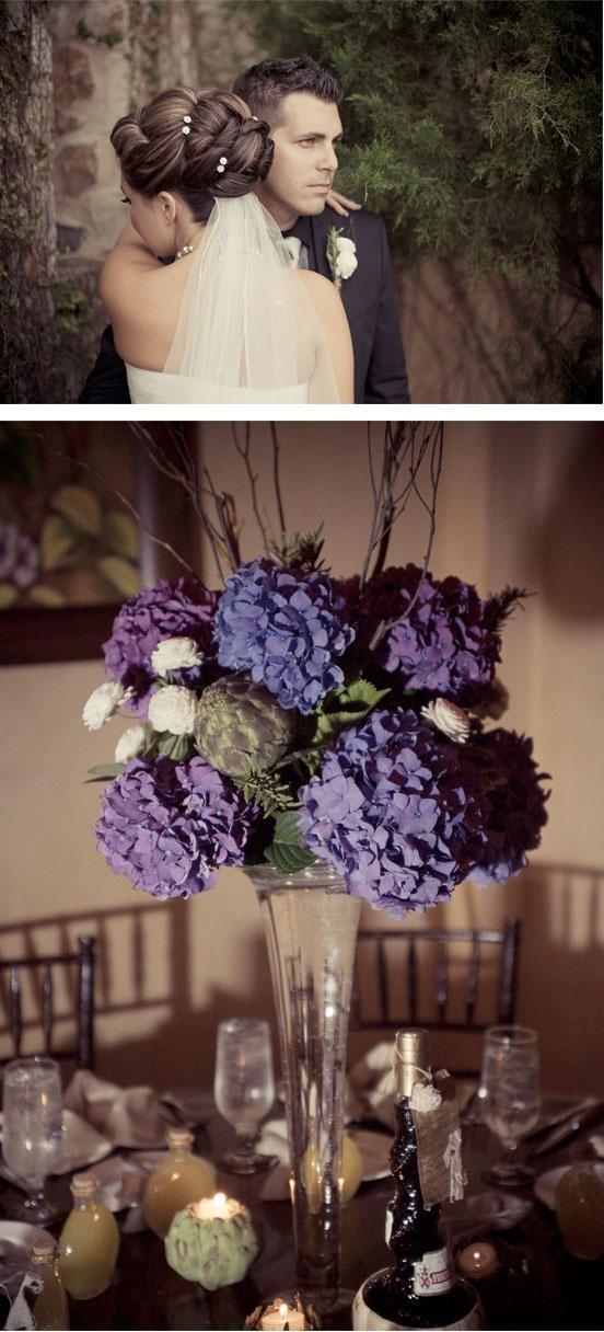 Irene + Matt: Mediterranean Vintage! {vintage, vintage inspired, purple, #rustic, homespun, real wedding, lilac, stunning, wedding inspiration, wedding colors, wedding color scheme, wedding theme, theme wedding, classic, chic, glamorous wedding}