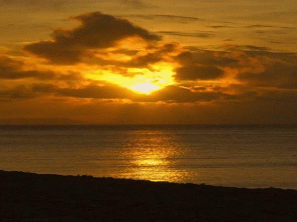 ANIMADOS paisagens: mar animado (17) da paisagem Dawn (Josefina Plá)